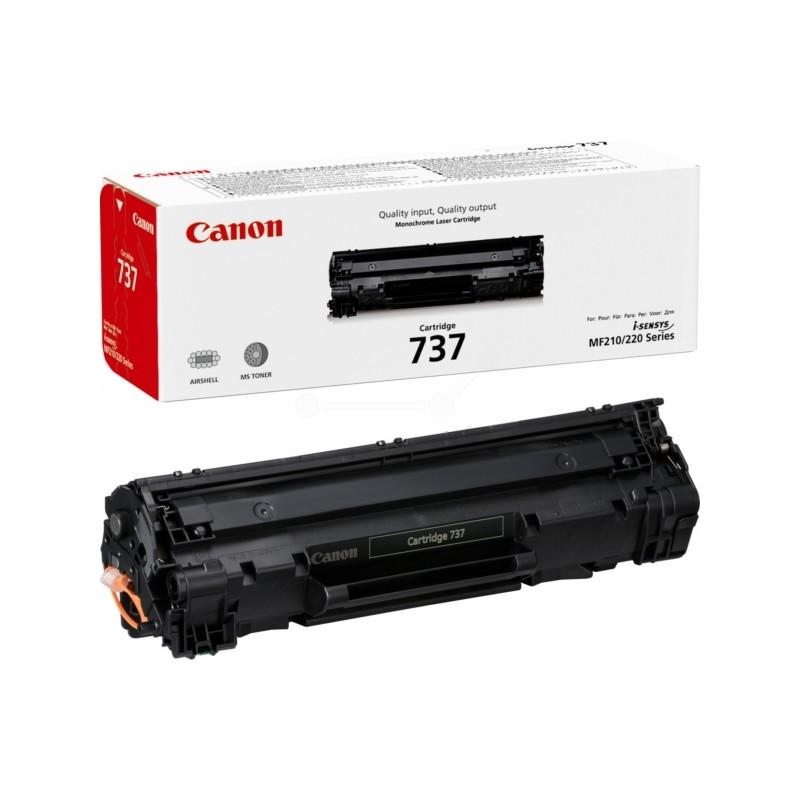 Toner Canon CRG-737, Canon 9435B002 (Černý) - originální