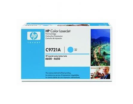 Toner HP C9721A (Azurový)