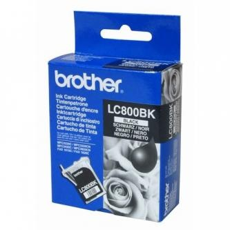 Brother Inkoustová cartridge Brother MFC-3220C, 4820CN, 3420C, 3820CN, LC-800BK, černá,