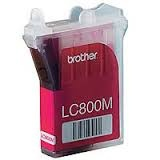 Brother Inkoustová cartridge Brother MFC-3220C, 4820CN, 3420C, 3820CN, LC-800M, červená,