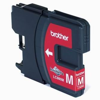 Brother Inkoustová cartridge Brother DCP 145C / DCP165C, LC-980M, magenta, O