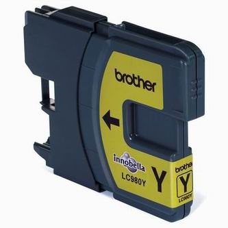Brother Inkoustová cartridge Brother DCP 145C / DCP165C, LC-980Y, yellow, O