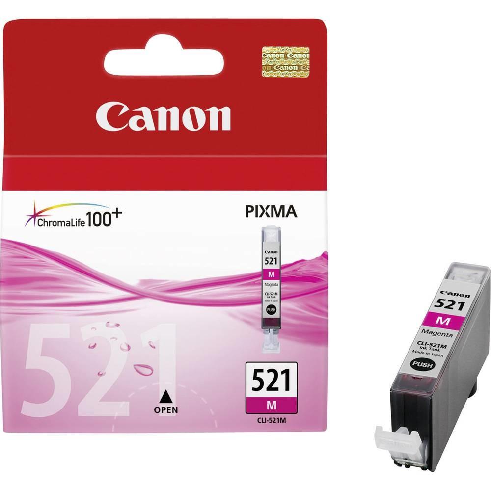 Cartridge Canon CLI-521M, 2935B001 - originální (Purpurová)
