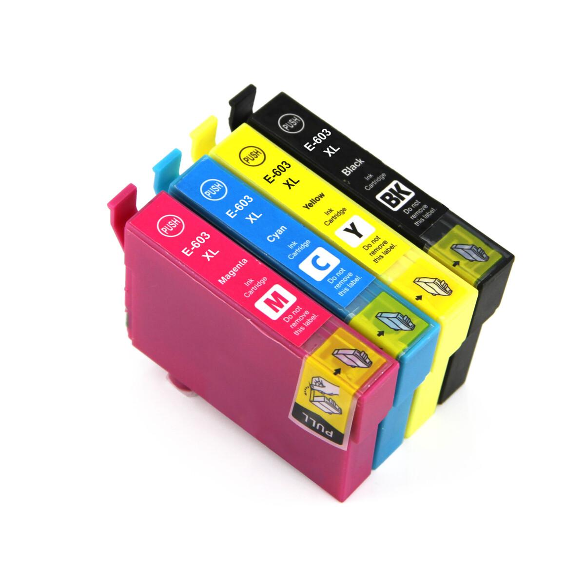Cartridge Epson 603XL, C13T03A64010 - kompatibilní (Multipack CMYK)