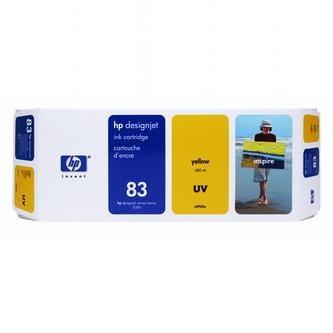 HP Inkoustová cartridge HP DesignJet 5000, PS, UV, 5500, PS, UV, C4943A,žlutá, No.