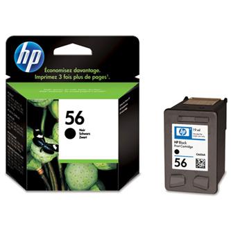 Cartridge HP 56 C6656AE (Černá)