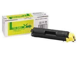 Kyocera Toner Kyocera Mita FS- C5150DN, yellow, TK580Y, 2800s, O