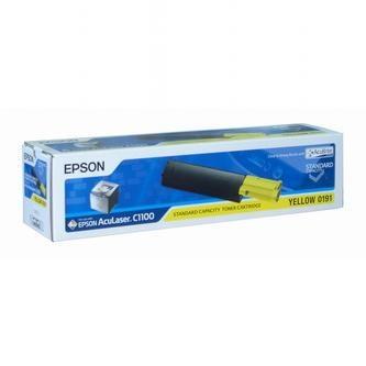 Epson Tonerová cartridge Epson AcuLaser 1100, žlutá, C13S050191, 1500s, O