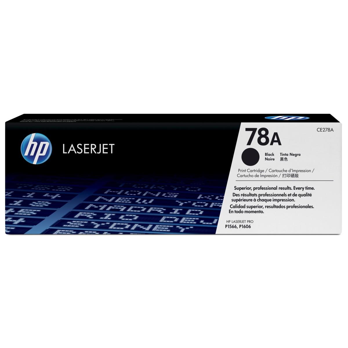 Toner HP 78A, HP CE278A - originální (Černý)