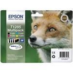Zásobníky Epson T1285, C13T12854010 originální (Multipack)