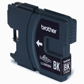 Brother Inkoustová cartridge Brother DCP 145C / DCP165C, LC-980BK, black, O